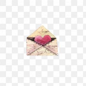 Heart-shaped Envelope - Envelope Love PNG