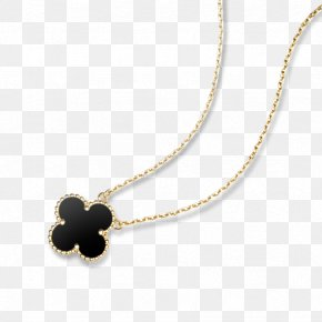 Necklace - Van Cleef & Arpels Charms & Pendants Necklace Colored Gold PNG