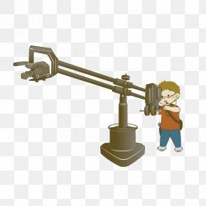 Cartoon Radio Cameraman - Camera Operator Video Camera PNG