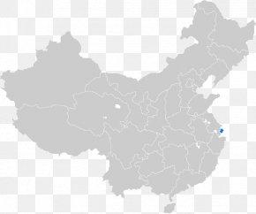 China - China Chinese Civil War Map PNG