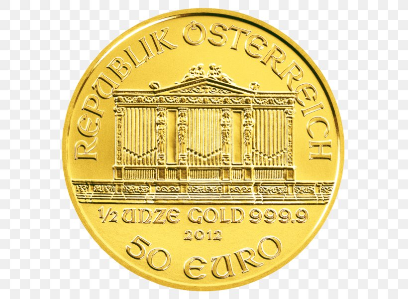 Vienna Philharmonic Gold Coin Silver