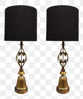 Iron - Wrought Iron Electric Light Metal Lampe De Bureau PNG