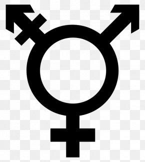 Symbol - Gender Symbol Transgender Trans Woman Trans Man PNG