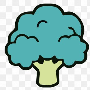 Cartoon Hand-painted Broccoli - Broccoli Vegetable Drawing PNG