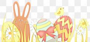 Child Art Rabbits And Hares - Cartoon Rabbit Easter Rabbits And Hares Child Art PNG