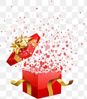 Giftbox - Christmas Gift Valentine's Day Stock Photography PNG