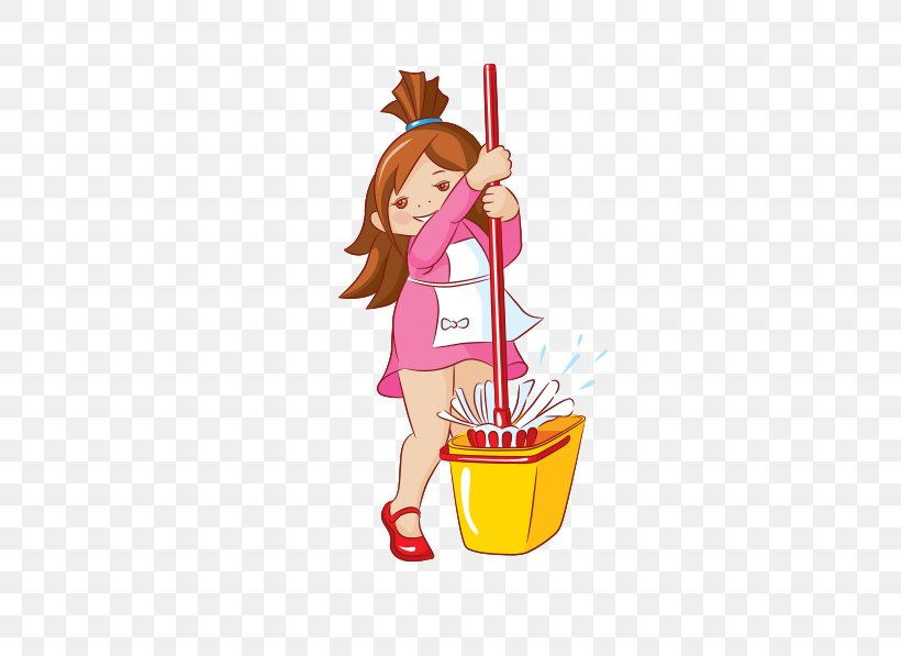 Two girls cleaning window at home Clipart   k51593842   Fotosearch