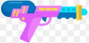Trigger Water Gun - Gun Cartoon PNG
