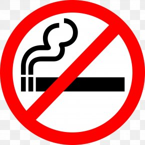 NO SMOKING - Smoking Ban Smoking Cessation Tobacco Smoking Clip Art PNG