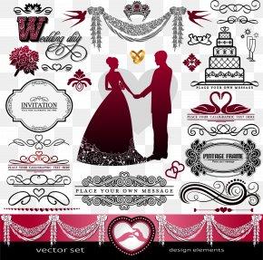 Wedding - Wedding Invitation Ornament Bridegroom PNG