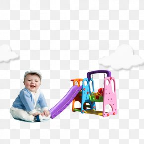 Toy - Toy Toddler Playground Slide Plastic Swing PNG