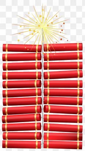 Christmas Firecrackers Clip Art - Christmas Clip Art PNG
