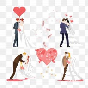 Wedding Couple - Wedding Invitation Bridegroom Couple PNG