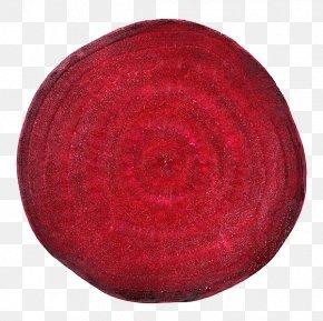 Beetroot Free Hair Material - Red Circle PNG