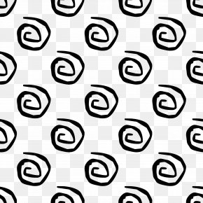 Black And White Decorative Pattern - Black And White Clip Art PNG