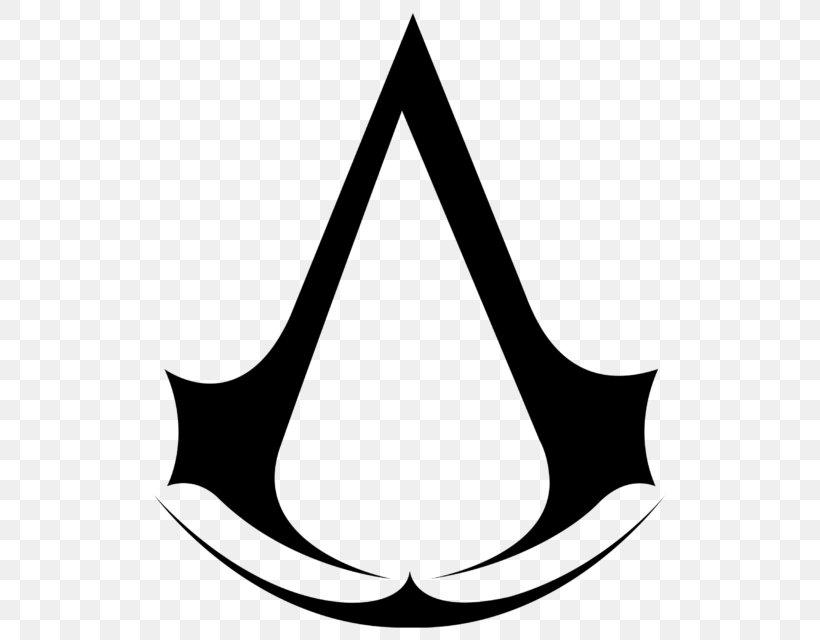 Assassin's Creed: Origins Ezio Auditore Assassin's Creed Rogue Assassin's Creed III, PNG, 768x640px, Ezio Auditore, Assassins, Black And White, Crescent, Decal Download Free