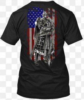Knight Templar - T-shirt Sleeve Hanes PNG