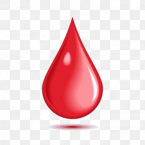 Vector A Drop Of Blood - Blood Euclidean Vector Logo PNG