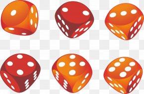 Three-dimensional Dice - Dice Game Download PNG