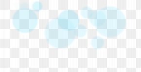 Bokeh - Blue Azure Turquoise Teal Sky PNG