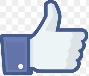 Like Us On Facebook - Facebook Like Button PNG