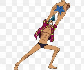 One Piece - Franky Nami Monkey D. Luffy Usopp Bentham PNG