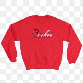 T-shirt - T-shirt Hoodie Crew Neck Sleeve Sweater PNG