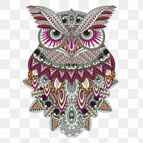 Department Of Forestry Hand-painted Owl - Flower Designs Adult Colouring Book: A Calming Colouring Book For Adults Adult Coloring Books: Owls: Relaxing Designs To Color For Adults Creative Haven Owls Coloring Book PNG