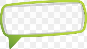Green Four Angle Border Material - Material Green Pattern PNG