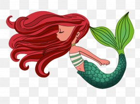 Mermaid Pictures - Mermaid Cartoon Drawing PNG