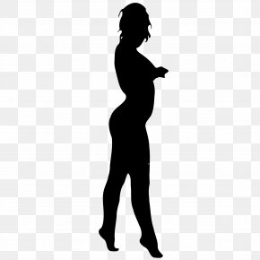 Silhouette - Silhouette Woman Female Body Shape Clip Art PNG