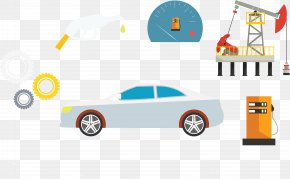 Car Oil Flag - Car Automotive Design Logo Download PNG