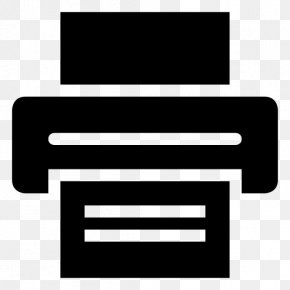 Printer - Printer Symbol Printing User Interface PNG
