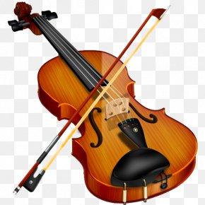Violin Transparent - Violin Bow Clip Art PNG
