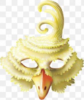 Clown Mask - Beak Yellow Close-up Mask PNG