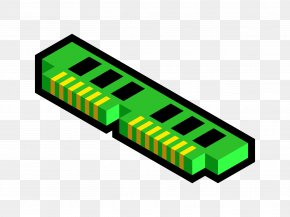 Computer - DDR SDRAM Computer Memory Computer Data Storage Clip Art PNG