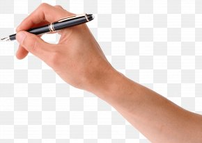 Pen In Hand Image - Pen Handwriting Clip Art PNG