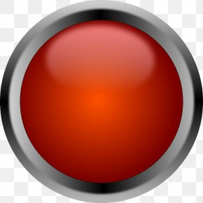 Button - Red Button Euclidean Vector PNG