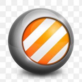VLC - Trademark Orange Circle PNG