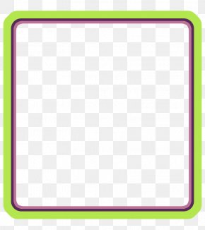 Green Frame - Picture Frame PNG