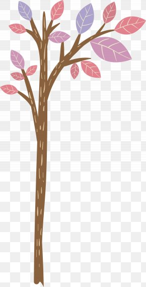 Tree - Twig Tree Drawing PNG