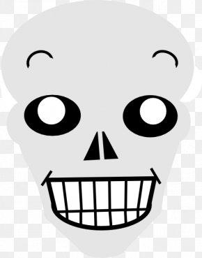Nose - Nose Jaw Skull Line Clip Art PNG