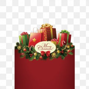 Christmas Gift - Christmas Decoration Christmas Gift Santa Claus PNG