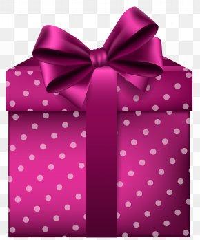 Pink Gift Clip Art Image - Gift Blue Clip Art PNG