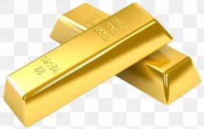 Gold - Gold Bar Ingot PNG