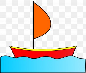 Beautiful Boat - Sailboat Fishing Vessel Drawing Clip Art PNG