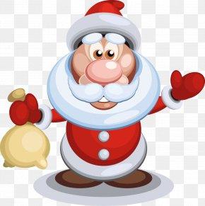 Vector Santa Claus - Santa Claus Drawing PNG