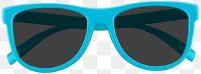 Blue Sunglasses Clip Art Image - Goggles Sunglasses Blue PNG
