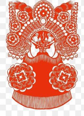 Chinese Traditional Art Of Peking Opera Style Paper-cut Material - China Chinese Paper Cutting Peking Opera Papercutting PNG