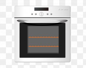 Vector Illustration Flat Electric Oven - Oven Home Appliance Illustration PNG